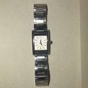 Coach stainless steel watch!